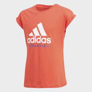 YG SPORT ID TEE Real Coral / White CF6666