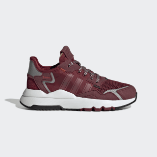 Nite Jogger Shoes Collegiate Burgundy / Collegiate Burgundy / Cloud White EF9216