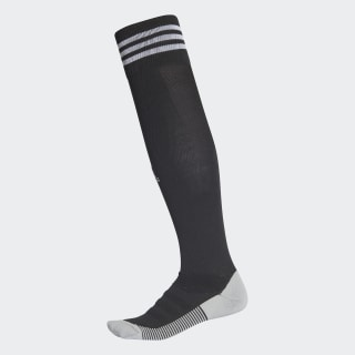 Calcetines a la rodilla AdiSocks BLACK/WHITE CF3576
