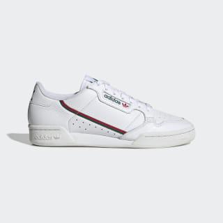 Continental 80 Shoes Cloud White / Collegiate Green / Scarlet EG4592