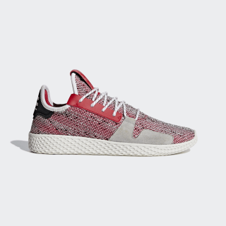 Pharrell Williams SOLARHU Tennis V2 Shoes Scarlet / Cloud White / Core Black BB9542