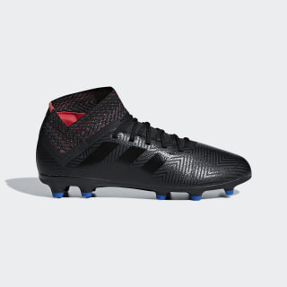 Nemeziz 18.3 Firm Ground Boots Core Black / Football Blue / Active Red D98016