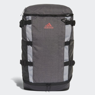 Rucksack Backpack Dark Grey Heather / Scarlet BC2250