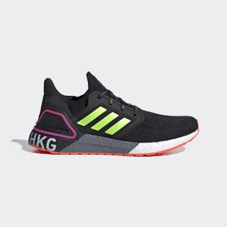 Ultraboost 20 Hong Kong Shoes Core Black / Signal Green / Shock Pink FX7818