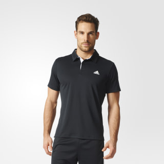 Polo de Tennis Approach Climalite BLACK/WHITE AZ4073