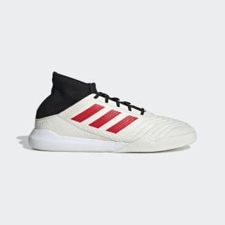 Chaussure Predator 19.3 Paul Pogba Off White / Red / Core Black G26317