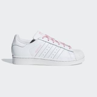 Tenis SUPERSTAR J Ftwr White / Ftwr White / Light Pink CG6617