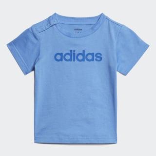 T-shirt Linear Real Blue / Blue EI7919