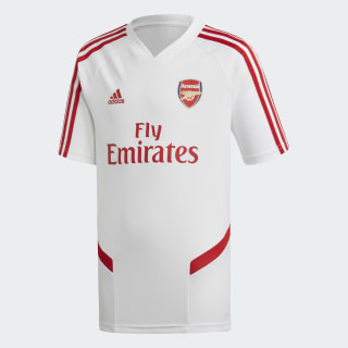 Arsenal Training Jersey White / Scarlet EJ6279