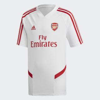 Maillot d'entraînement Arsenal White / Scarlet EJ6279