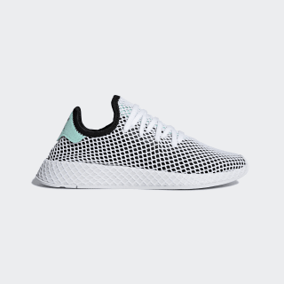 Deerupt Runner Shoes Core Black / Easy Green / Cloud White B28076