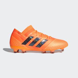 Calzado de Fútbol Nemeziz 18.1 Terreno Firme Zest / Core Black / Solar Red DA9588