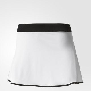 Falda con Short Aspire WHITE/BLACK AJ3238