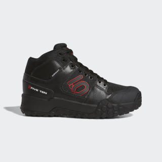 Five Ten Impact High  Mountain Bike Shoes Core Black / Red / Cloud White BC0719