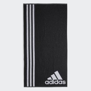 Toalla de Natación adidas L Black / White AB8008