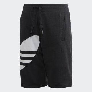 Short Big Trefoil Black / White FM5655