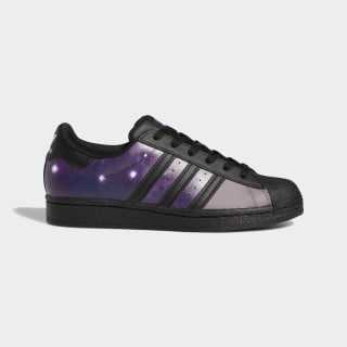 Superstar Shoes Core Black / Core Black / Glory Purple FW2644