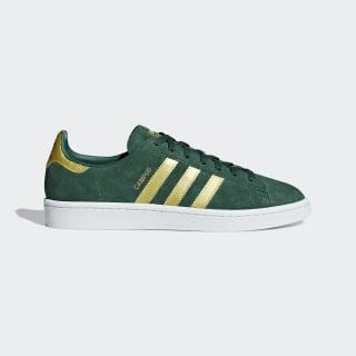 Campus Shoes Collegiate Green / Matte Gold / Cloud White B37827