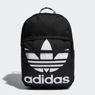 Trefoil Pocket Backpack Black CL5498