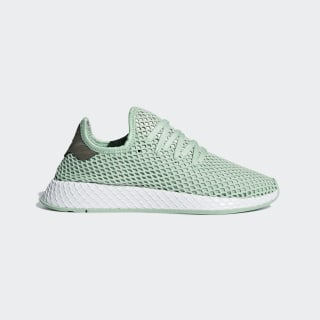 Sapatos Deerupt Ash Green / Ash Green / Tech Silver Met. B37680