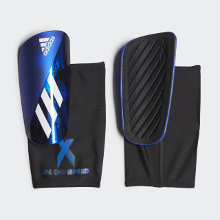 X 20 League Shin Guards Black / Team Royal Blue FH7533