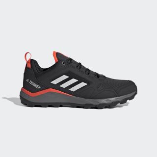 Terrex Agravic Trail Running Schoenen Core Black / Grey One / Solar Red EF6855