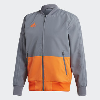 Condivo 18 Präsentationsjacke Grey / Orange CF4312