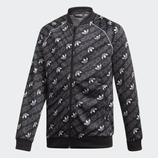Track Jacket Trefoil Monogram SST Black / White DI0264