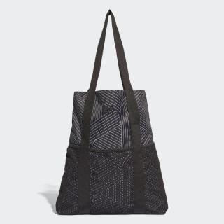 Bolsa Tote Core Shopper BLACK/WHITE/BLACK CF4905
