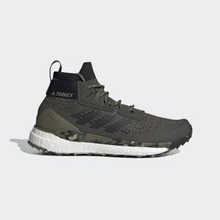 Chaussure de randonnée Terrex Free Hiker Raw Khaki / Core Black / St Desert Sand EF0774