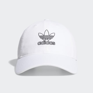 Relaxed Outline Hat White CM3936