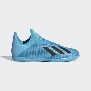Chaussure X 19.3 Indoor Bright Cyan / Core Black / Shock Pink F35354