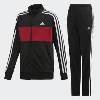 Pants Con Sudadera Yb Ts Tiberio Black / Active Maroon / White ED6209