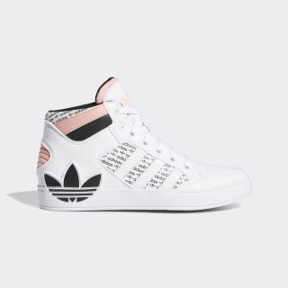 HARDCOURT HI J Cloud White / Core Black / Glory Pink FV6983