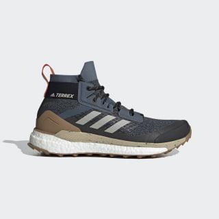 Terrex Free Hiker Hiking Shoes Legacy Blue / Metal Grey / Raw Desert EF2157