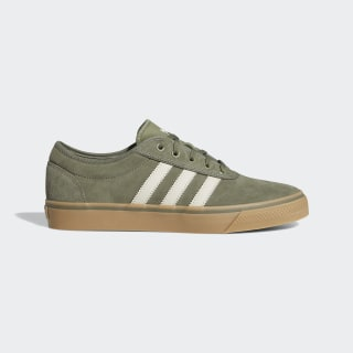 Adiease Shoes Legacy Green / Clear Brown / Gum EG2489