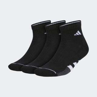 Cushioned 2.0 Quarter Socks 3 Pairs Black CL5724