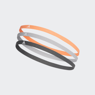 Hairband 3 Pack Signal Coral / Grey Two / White FM0217