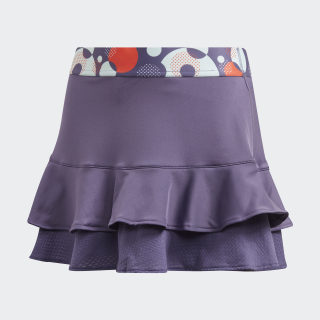 Frill Skirt Tech Purple / Shock Yellow FK7139
