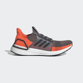 Ultraboost 19 Shoes Grey Four / Core Black / Hi-Res Coral G27517