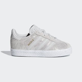 Buty Gazelle Grey One / Ftwr White / Cloud White F34584