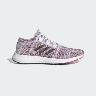 Pureboost Go Shoes Cloud White / Legend Ink / Shock Red B75829