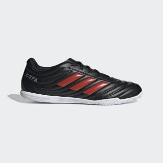 Calzado de Fútbol Copa 19.4 Bajo Techo Core Black / Hi-Res Red / Silver Metallic F35486