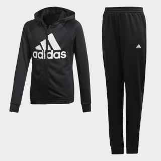 Hooded Trainingsanzug Black / White DV0842