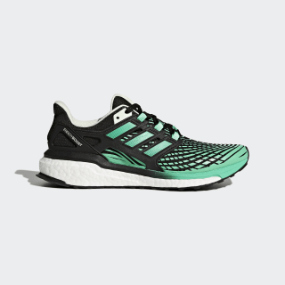 Кроссовки для бега Energy Boost CORE BLACK/HI-RES GREEN S18/AERO GREEN S18 CG3973