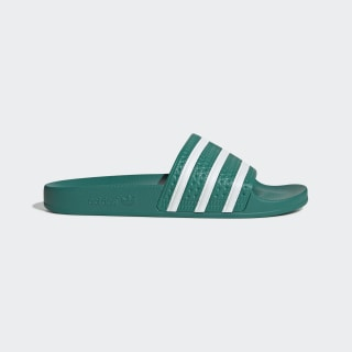 Adilette Slides Glory Green / Cloud White / Glory Green EF5431