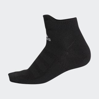 Alphaskin Ultralight Ankle Socks 2 Pairs Black / White CV7587