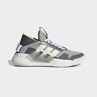 รองเท้า BBall 90s Grey Two / Cloud White / Hi-Res Yellow EF0606