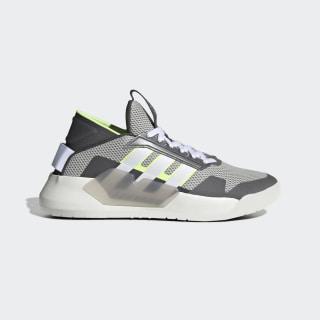Giày bóng rổ BBall thập niên 90 Grey Two / Cloud White / Hi-Res Yellow EF0606