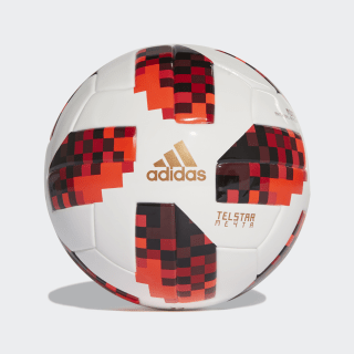 FIFA Fussball-Weltmeisterschaft Knockout Miniball White / Solar Red / Black CW4690